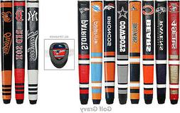 1 NFL or MLB Putter Golf Grip with Removable Ball Marker - *
