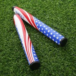 1piece High Quality US Flag Design PU Golf Putter Grip Golf
