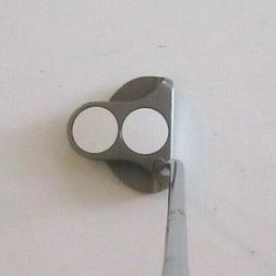 """Odyssey 2 Ball White Hot Belly Mid putter golf club 43"""" Nice"""