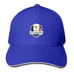 D52D4FDSA 2018 RyderrCup Logo Baseball Cap Unisex