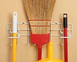 ClosetMaid 3462 Broom and Mop Holder, White