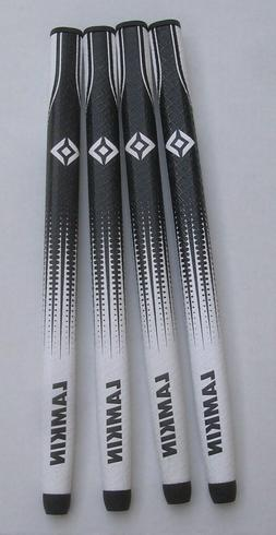 4- Lamkin Sink HD Paddle, Black/White Putter Grips,  15 inch