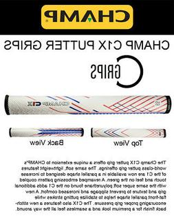 CHAMP C1X PATRIOT Putter Grip - Red/White/Blue - Midsize - U