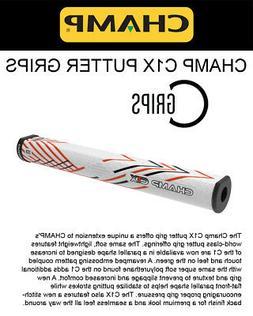 CHAMP C1X  Putter Grip - WHITE - M - Midsize - Brand New
