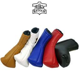 The Grip Master Cabretta Genuine Leather Blade Putter Headco