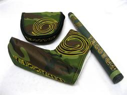 Odyssey Camo Putter Headcover / Griff  NEW