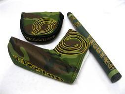 Odyssey Camo Putter Headcover / Grip  NEW