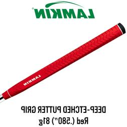 Lamkin Deep Etched Red Paddle Putter Grip - Master Distribut