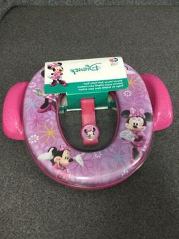 Disney Minnie Mouse Soft Potty Seat Kids Toilet Trainer Purp