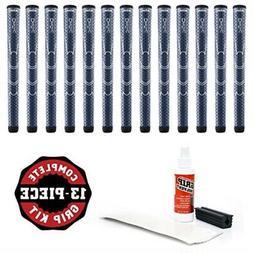 Winn Dri-Tac Midsize Grip Kit , Blue