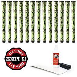 Winn Dritac X Standard Green/Black Golf Grip Kit with Tape S