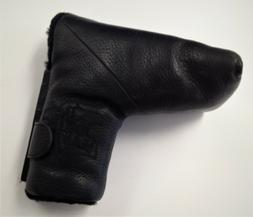 The Grip Master Genuine Leather Blade Putter Magnet Headcove