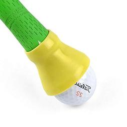 ELVES Golf Ball Pick-up Suction Cup Sticks on Putter,Putte