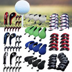 Golf Club Iron Head Cover Trainning Grip Putter Headcovers S