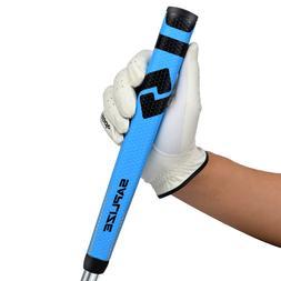 Golf Putter Grips Pistol Shape Midsize Anti-Slip Blue Putter