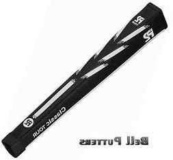P2 Grips-Classic Tour Standard/Midsize Black/White Paddle/Pi