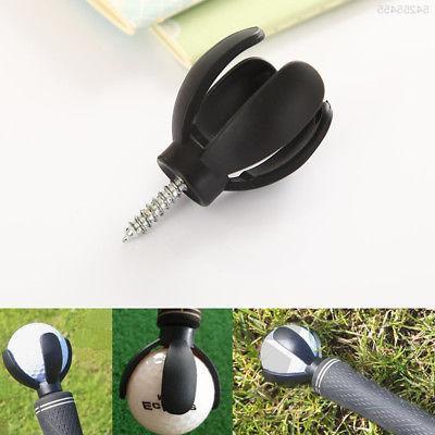 0D95 4-Prong Golf Pick Grabber Tool Putter Training A