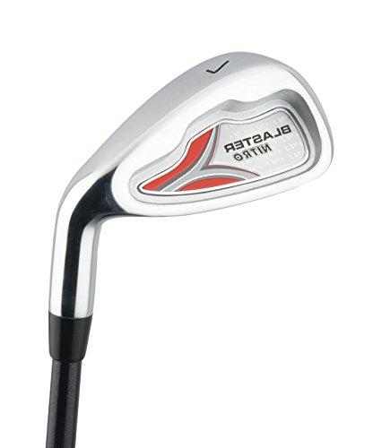 Kid's Right-Handed 8 Golf Club Set Nitro Blaster Kid's Golf Set 31 Graphite 15-Degree Regular with Bag years