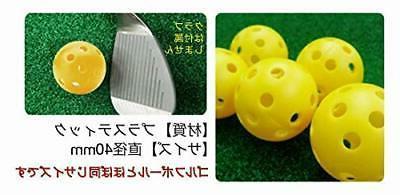 grip tea putter practice balls perfora...