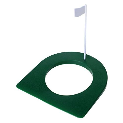 MUXSAM 1Pc Green Cup Hole Flag Training Aids