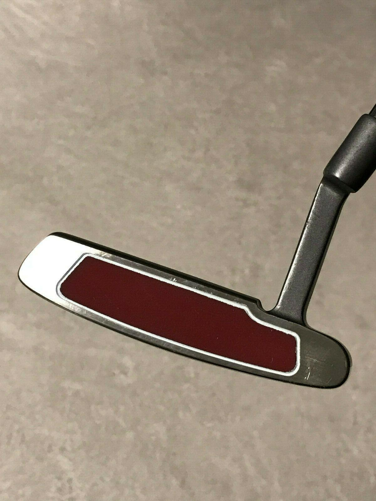 Tour Red Putter Edge Steel Grip NEW
