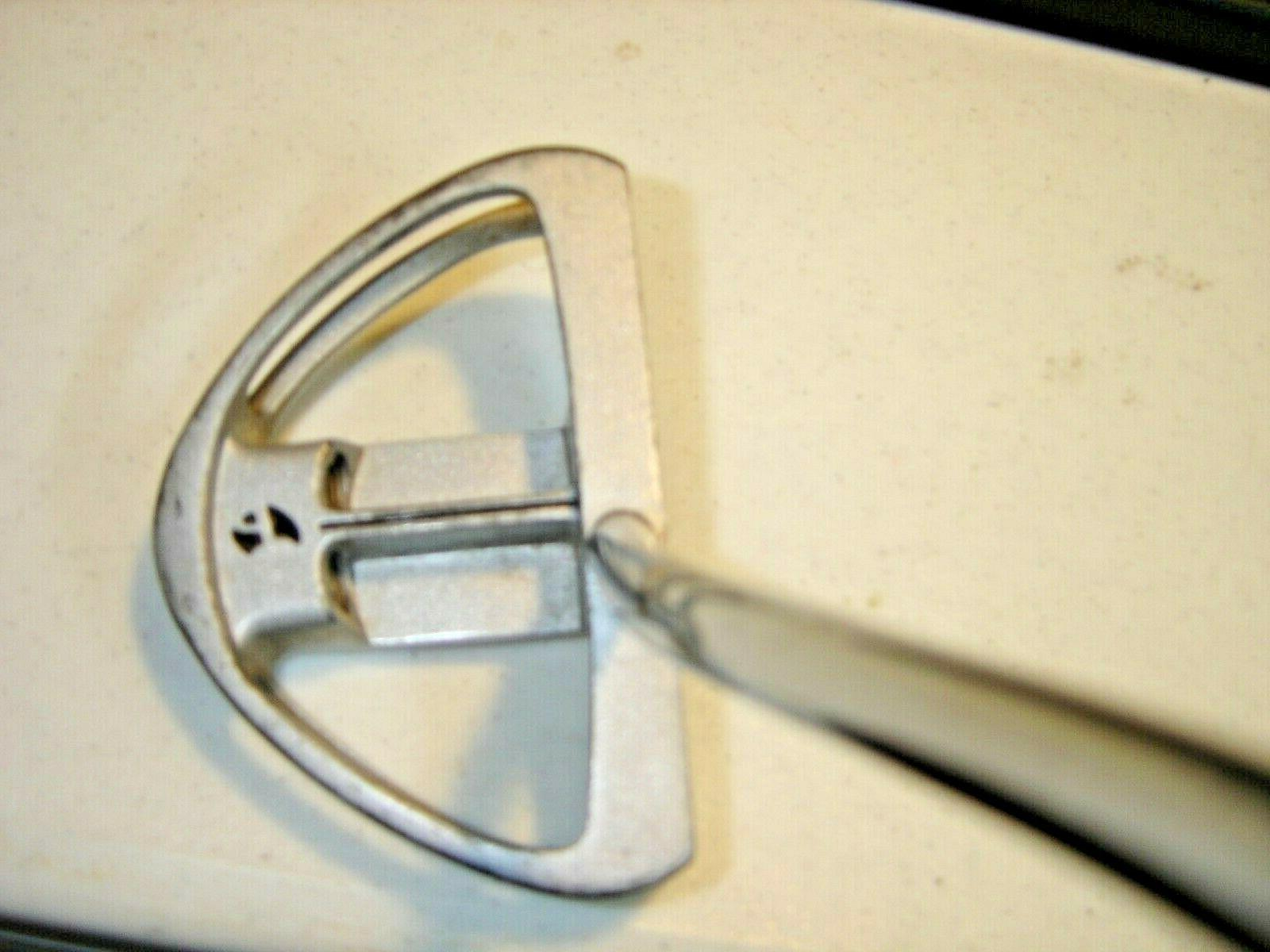 M1 Golf Putter/Steel Shaft/Wrap Grip/Very Good Condition