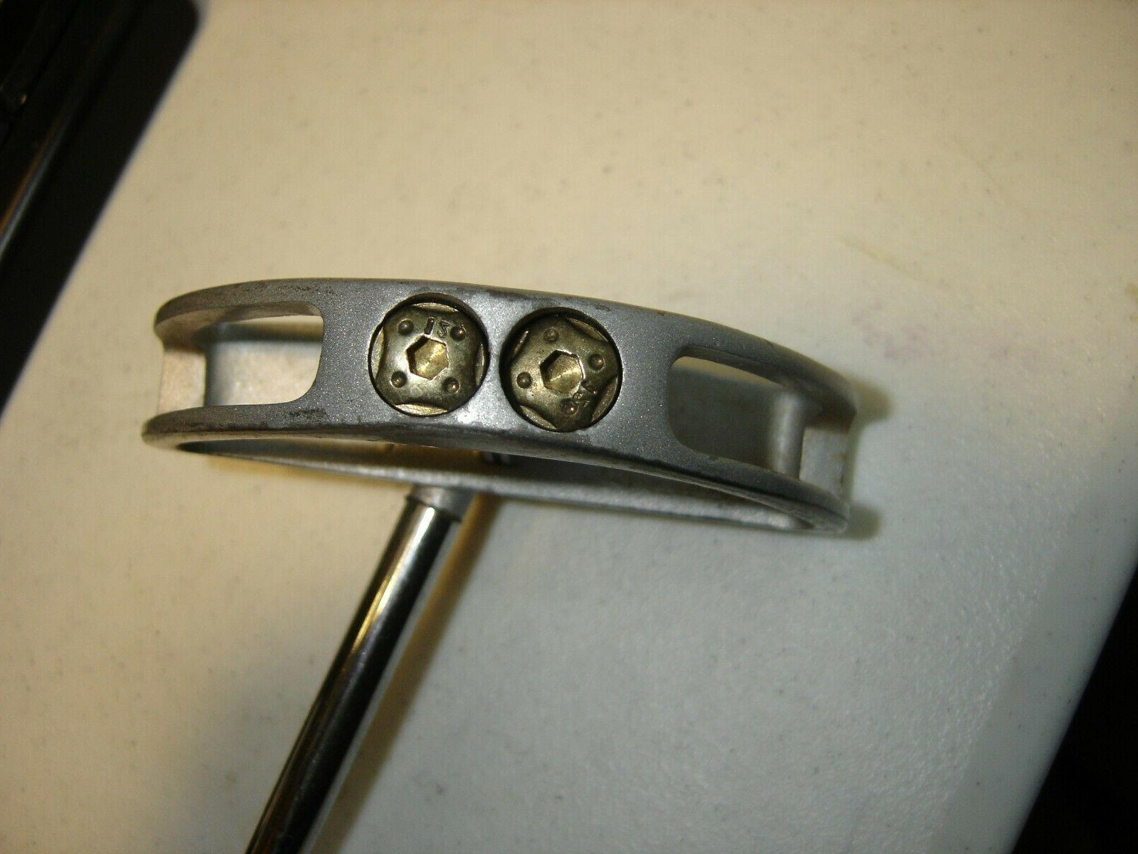 Mens Pinemeadow M1 Golf Putter/Steel Shaft/Wrap Grip/Very
