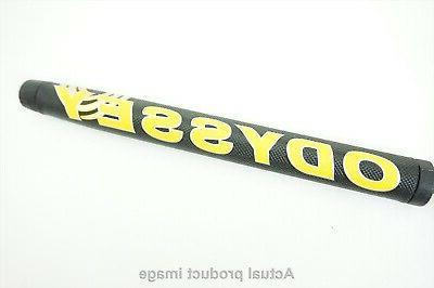 new golf stroke lab black yellow putter