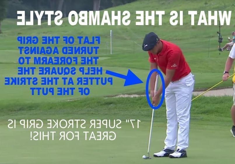 "NEW 17"" golf putter Shambo"
