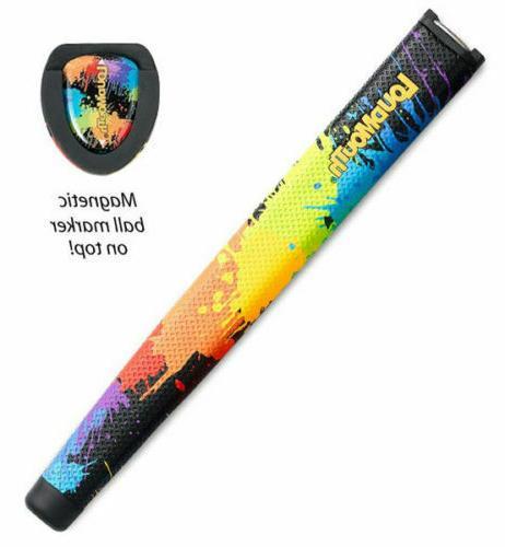 new tourmark paint balls jumbo putter grip
