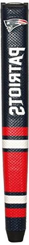 Team Golf NFL New England Patriots Golf Putter Grip with Rem
