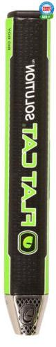 Flat Cat Solution Putter Grips Black/Green Standard