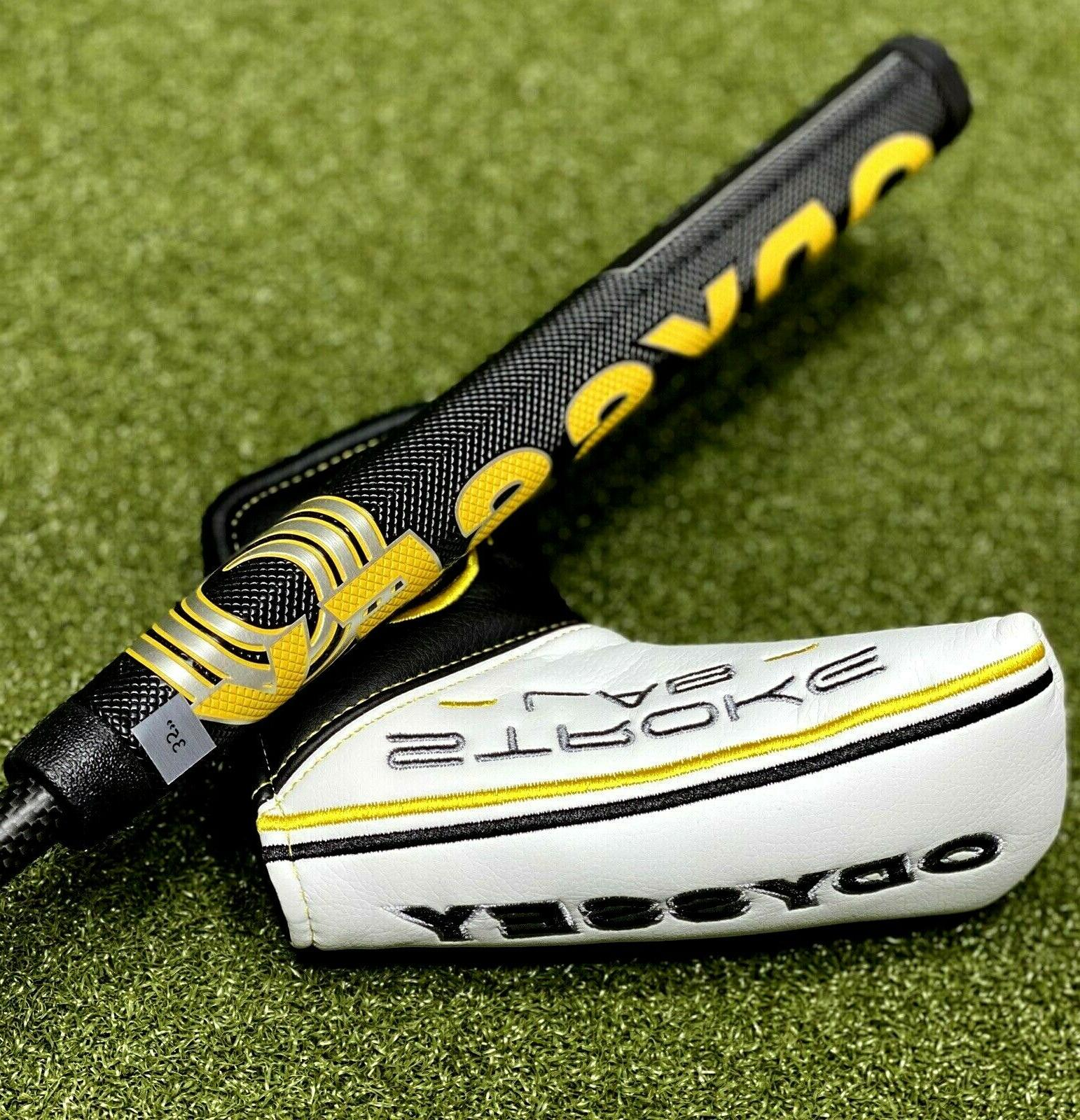 """Odyssey Lab #1 One Putter Hand 35"""" Oversize Grip Cover NEW #79196"""