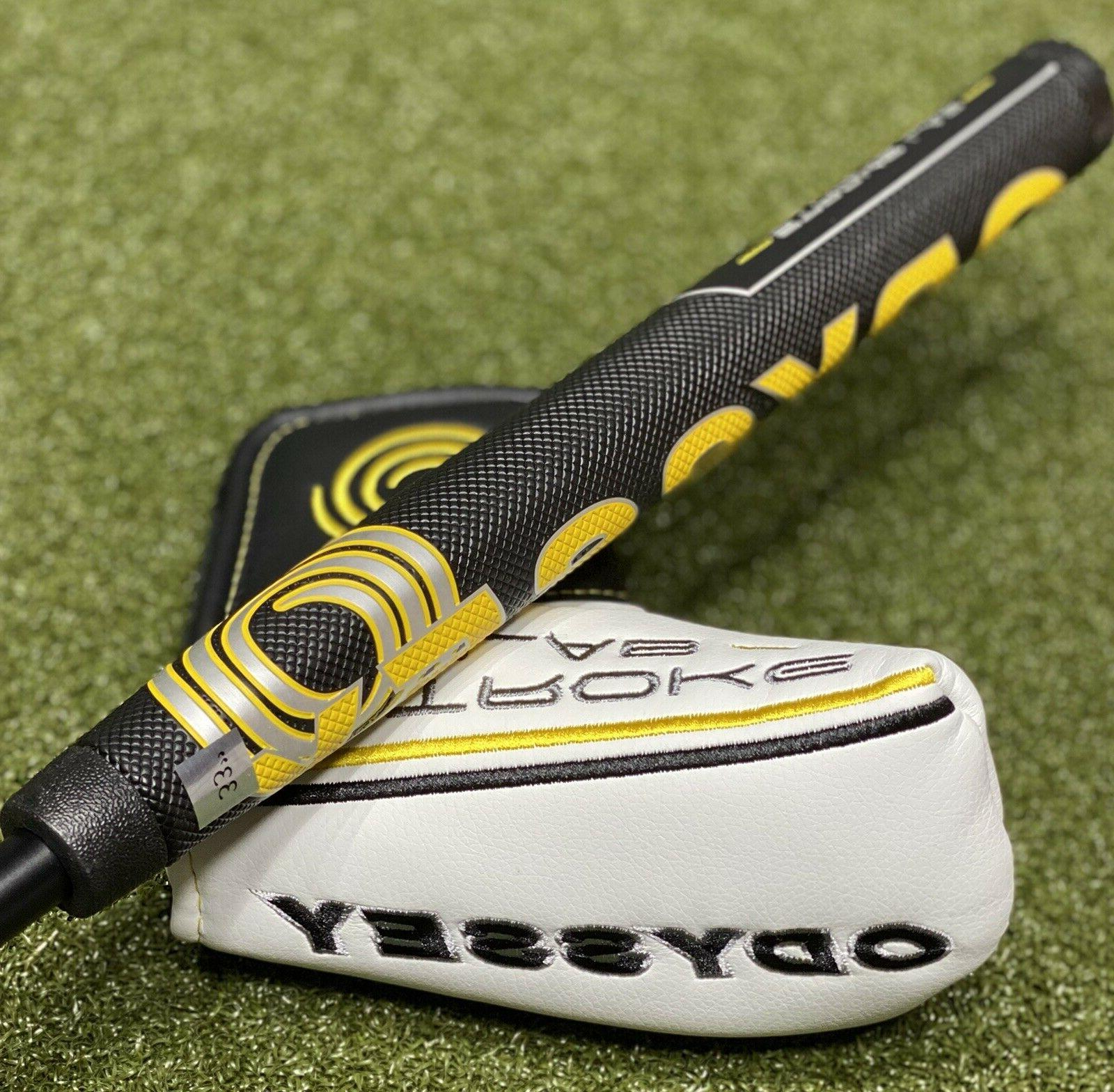 Odyssey Stroke Double Putter Oversize Grip + NEW