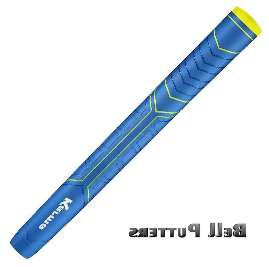 Karma Big Softy Blue oversize reduced taper golf putter grip
