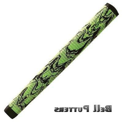 Winn DriTac X Lite Jumbo Pistol Putter Golf Grip, Green/Blac