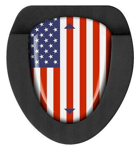 TourMark USA Golf Putter Marker-Red/White/Blue