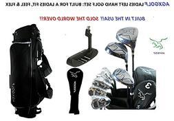 AGXGOLF Ladies Left Hand Magnum XLT Complete Golf Club Set w