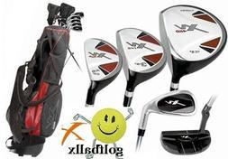AGXGOLF Boys LEFT Hand TOURBILT  12 Piece Complete Golf Club