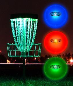 Light Up LED Disc Golf Kit - LED Discs & Lights for Basket -