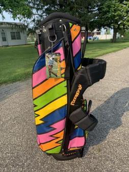 Loudmouth Lightning Rod Golf Cart Bag - Never Used - NWT Har