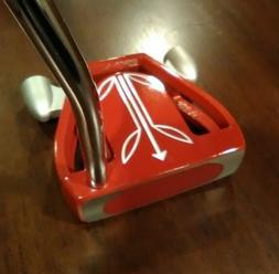 LOWEST PRICE! Twin Engine T7 Mallet Putter, Red/White, Choos