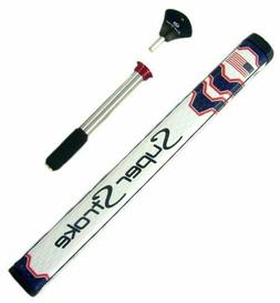 SuperStroke Mid Slim 2.0 Countercore Putter Grip USA Flag Bl