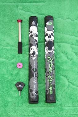SuperStroke Mid Slim 2.0 Skull CounterCore Golf Putter Grip