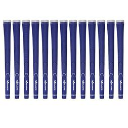 Karma Neion II Standard 13 Piece Golf Grip Bundle, Blue