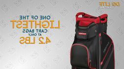 NEW DATREK DG LITE II GOLF CART BAG. CHOOSE YOUR COLOR. 15-W