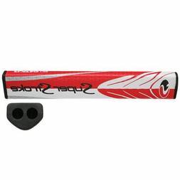New SuperStroke Flatso 1.7 Double Barrel Golf Putter Grip Re