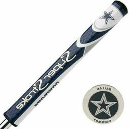 New Superstroke Mid Slim 2.0 Golf Putter Grip Dallas Cowboys