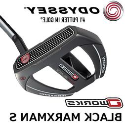 "NEW Odyssey O-Works Black Marxman S Putter, 35"", Winn AVS Mi"