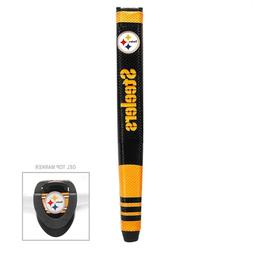 New Officially Licensed NFL Oversize Putter Golf Grip. W/ Ba